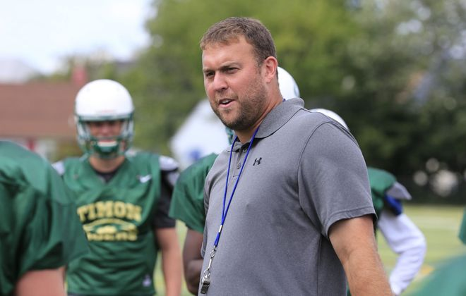 WNY Maritime athletic director Charlie Comerford will be the head coach of the new Health Sciences/WNY Maritime football team this fall. (Harry Scull Jr./News file photo)