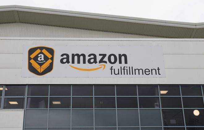 Amazon's Lancaster lease is valued at $20.34 million. (Getty Images)