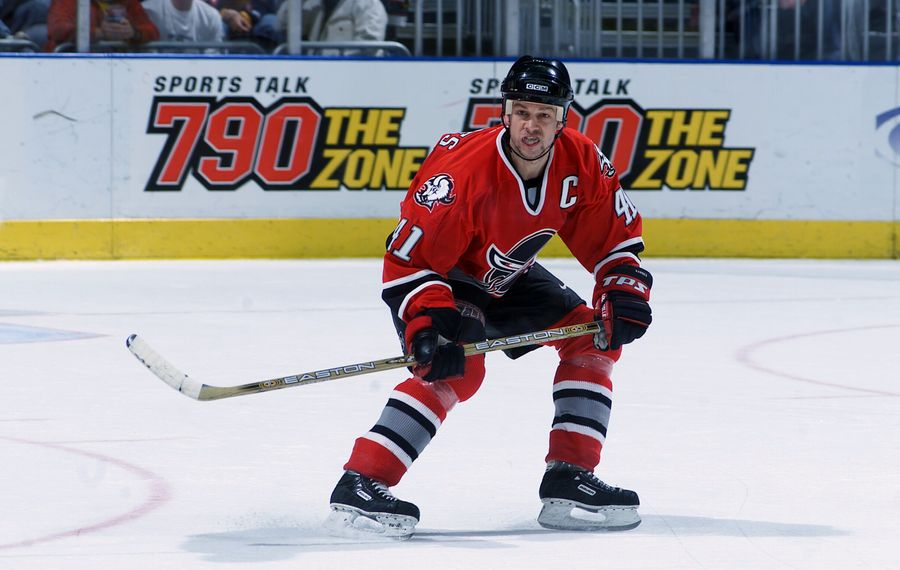 Former Sabres captain Stu Barnes has again joined the team that beat him for the Stanley Cup. (Getty Images)