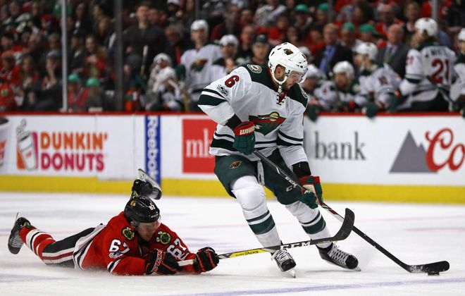 Marco Scandella had 11 goals in 2014-15. (Getty Images)