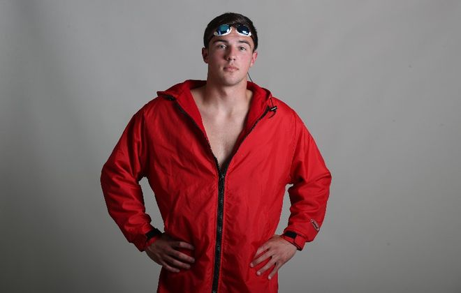 The Prep Talk player of the year in boys swimming is Seth Farrand of Olean (James P. McCoy / Buffalo News)
