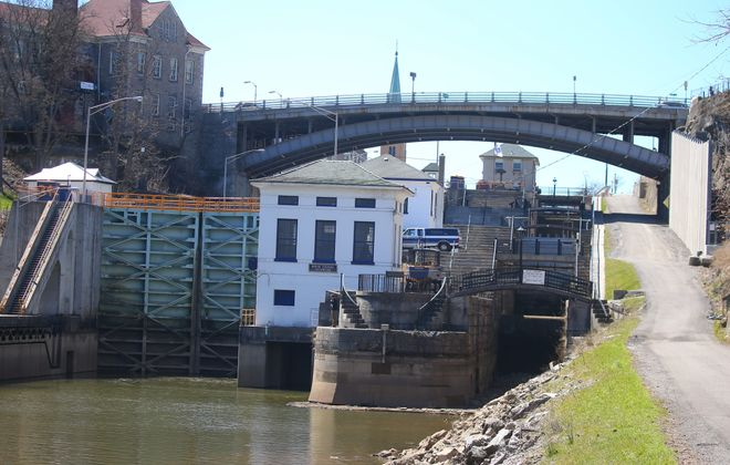 The Lockport locks will be featured on CBS Sunday Morning. (News file photo)