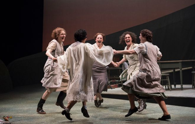 """Dancing at Lughnasa"" runs through Oct. 15 in the Royal George Theatre."