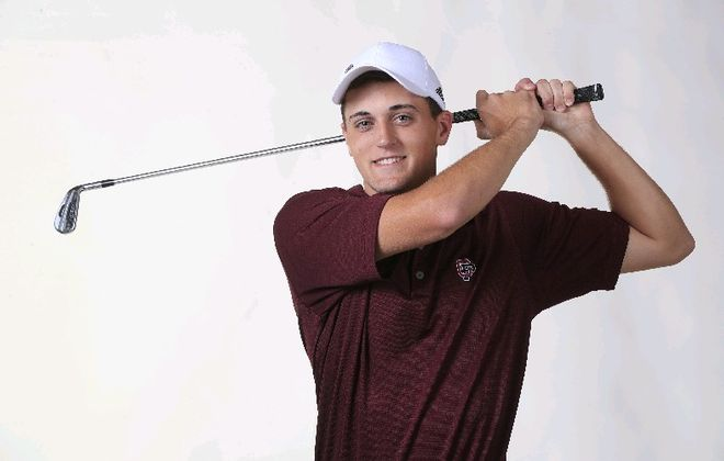 The Prep Talk Player of the Year in boys golf is Mitchell Smith of Orchard Park. (Harry Scull Jr./Buffalo News)