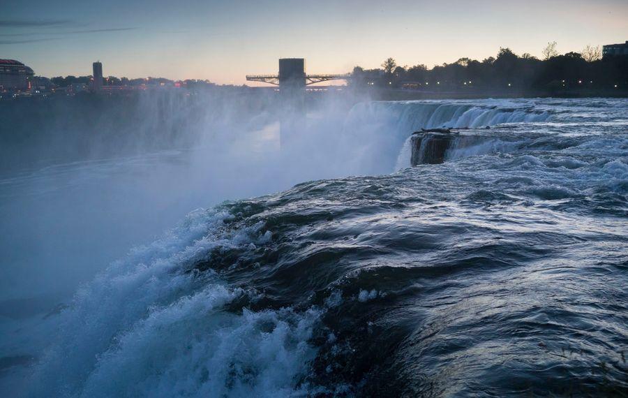 Niagara Falls at dawn