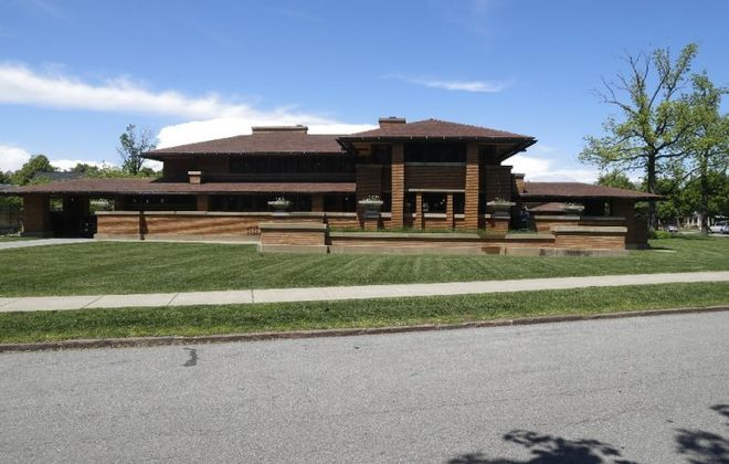 The Darwin D. Martin House by Frank Lloyd Wright will be the site for a healthy homes event Tuesday. (John Hickey/Buffalo News)