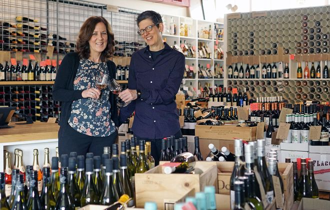 Paradise Wine owners Lauren Kostek and Paula Paradise feature a selection produced by smaller wineries, mostly in the $10-15 range.