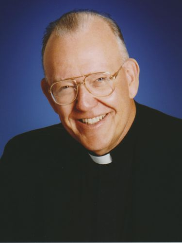The Rev. Vincent M. Cooke. former president of Canisius College.  (Provided by Canisius College)