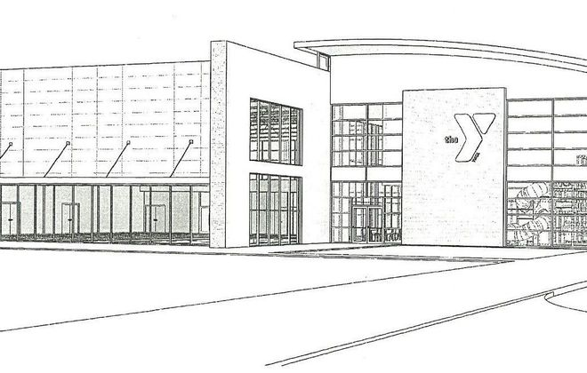 Exterior rendering of new Lockport YMCA (Courtesy Town of Lockport)