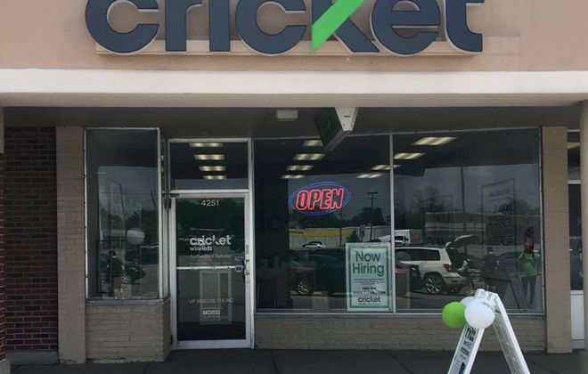 A new Cricket store has opened in Cheektowaga,  similar to this one in Clarence. (Contributed photo)
