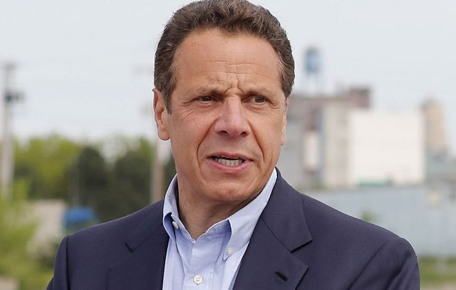 Gov. Cuomo was sworn in Tuesday, offering a few hints about his coming plans for 2019. (Mark Mulville/News file photo)