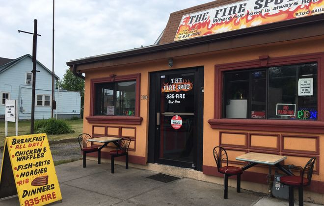 The Fire Spot is one of several soul food restaurants in Buffalo on Bailey Avenue that is currently operating or coming soon.