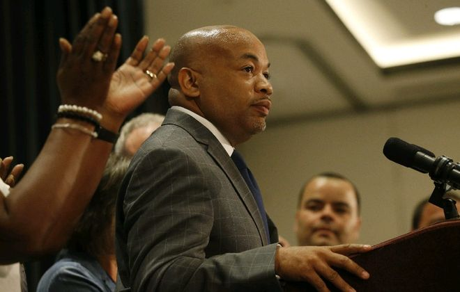 Assembly Speaker Carl Heastie wants to raise taxes to close a $6.1 billion budget deficit without even looking at other options. (Derek Gee/Buffalo News file photo)