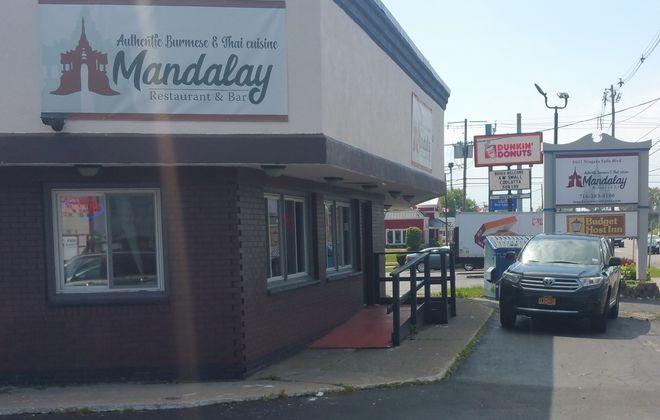 Mandalay Restaurant has replaced My Thai on Niagara Falls Boulevard. (Mike Kurilovitch/Buffalo News)