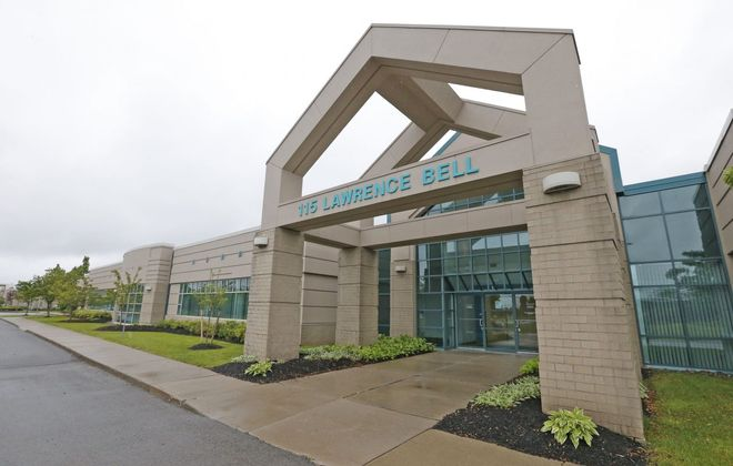 Debt-consolidation company Strategic Financial Solutions continues to expand at this office building on Lawrence Bell Drive in Amherst. (Robert Kirkham/Buffalo News file photo)