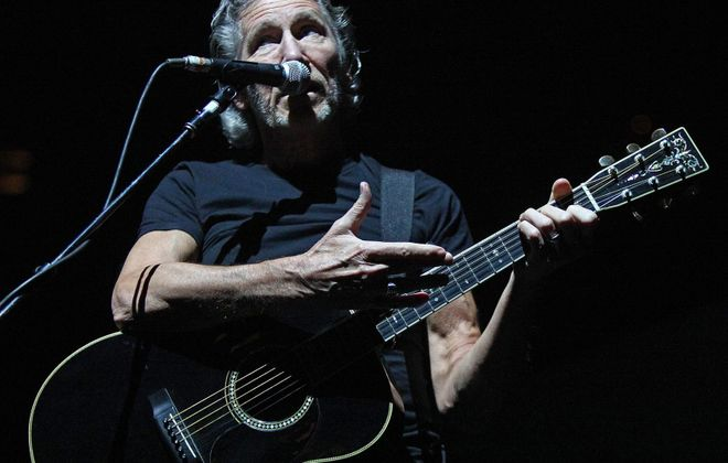 """Roger Waters performs during his """"The Wall - Live"""" tour stop at First Niagara Center in June 2012. (Robert Kirkham/Buffalo News file photo)"""
