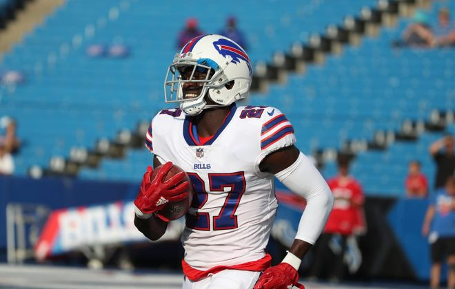 Bills cornerback Tre'Davious White is earning plenty of fans after a great start to his rookie season. (James P. McCoy/Buffalo News)