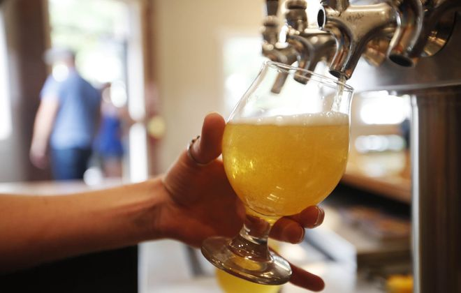 Local bars and breweries are offering special beer from Buffalo and around the world in the days  surrounding the Shelton Brothers' the Festival. (Sharon Cantillon/News file photo)