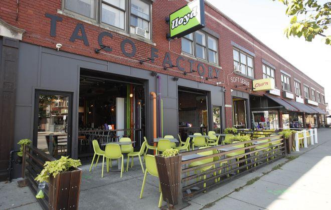 Lloyd Taco Factory on Hertel Avenue. (Sharon Cantillon/Buffalo News)