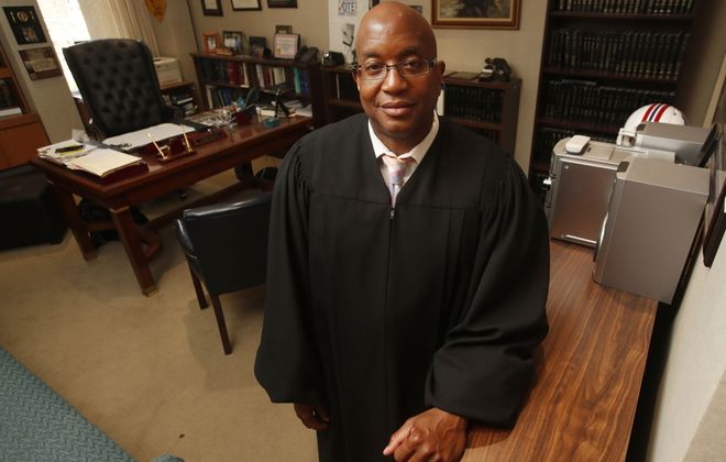 Buffalo City Court Chief Judge Craig Hannah will be the featured speaker Saturday in the Men's Conference, hosted by the University at Buffalo Educational Opportunity Center. (Sharon Cantillon/News file photo)