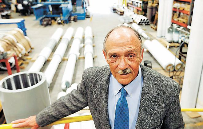 Taylor Devices CEO Douglas P. Taylor will retire from the company in May 2018. (Mark Mulville/Buffalo News file photo)