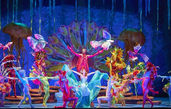 """Diana Huey gives a star-making performance in  """"The Little Mermaid,"""" playing in Shea's Performing Arts Center."""