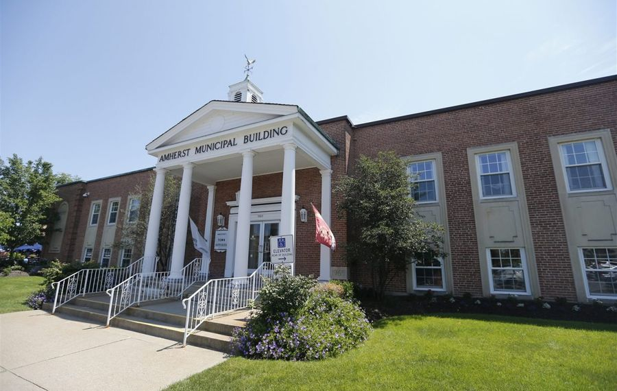 Amherst Town Hall. (News file photo)