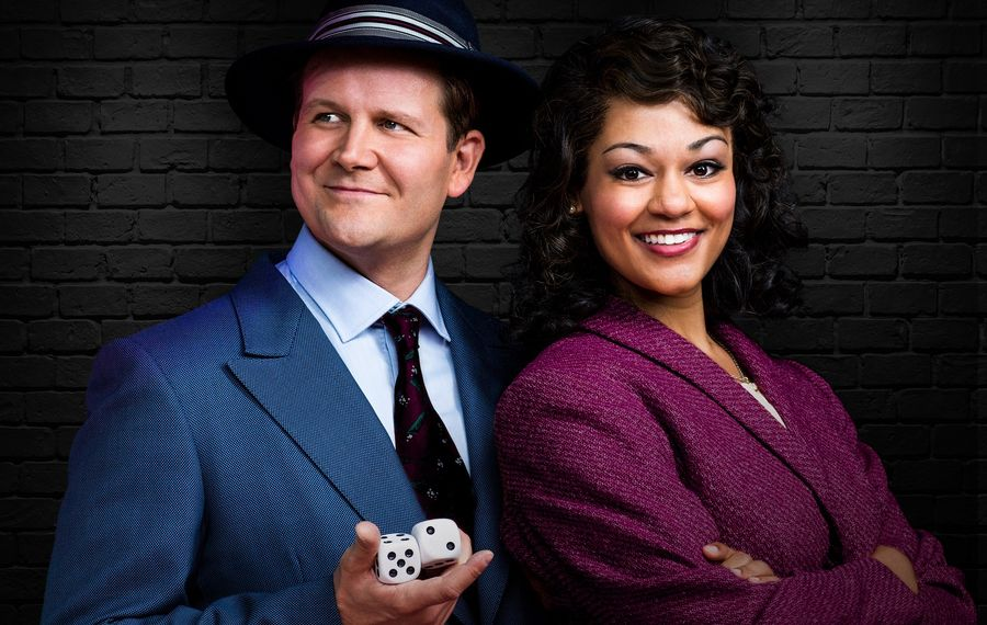"""Evan Buliung and Alexis Gordon star in an excellent production of """"Guys and Dolls"""" at the Stratford Festival. (Photography by Lynda Churilla.)"""