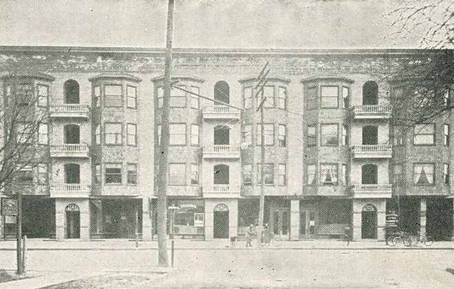 The Hotel Fenton, pictured in 1901. (Buffalo — Old and New)