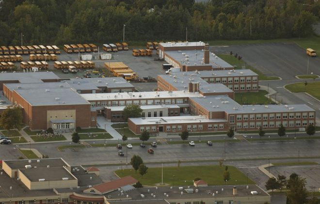 Frontier High School in Hamburg. (Derek Gee/News file photo)