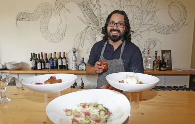 James Beard nominated Chef Victor Parra Gonzalez takes the Nickel City Chef spotlight next month. (Robert Kirkham/Buffalo News)