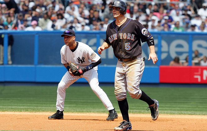 The Subway Series is a long way from the days of Derek Jeter vs. David Wright (Getty Images).