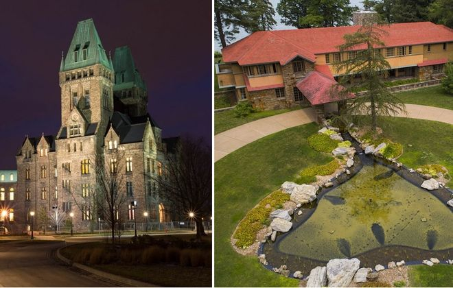 The renovated Richardson Complex and Graycliff estate are just two of the attractions that Erie County needs to shout about to the world. (Derek Gee/News file photos)