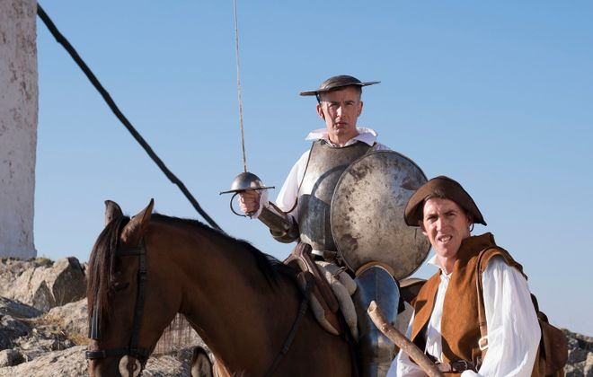 """Steve Coogan and Rob Brydon take a """"Trip to Spain."""" (Photo by Phill Fisk/ Courtesy of IFC Films.)"""