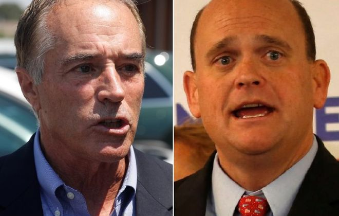 Reps. Chris Collins, left, and Tom Reed. (News file photo)