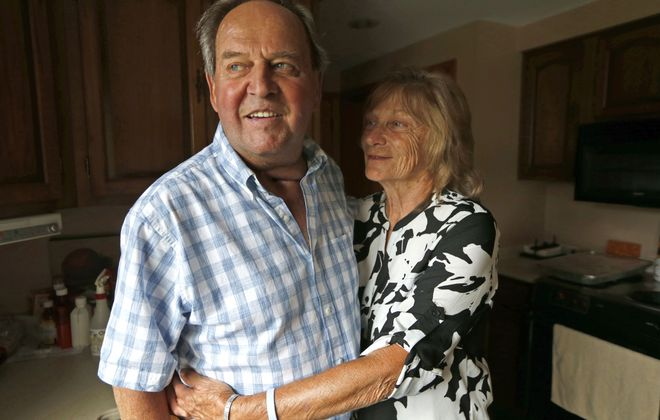 Jim Beiter and his wife Carol: Life as a textbook on grace amid struggle. (Robert Kirkham/The Buffalo News)
