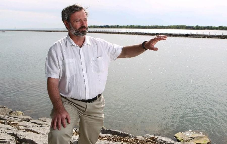 Alexander Karatayev, director of SUNY Buffalo State's Great Lakes Center, is one of two principal investigators on a program to study the Great Lakes food web. (Sharon Cantillon/News file photo)