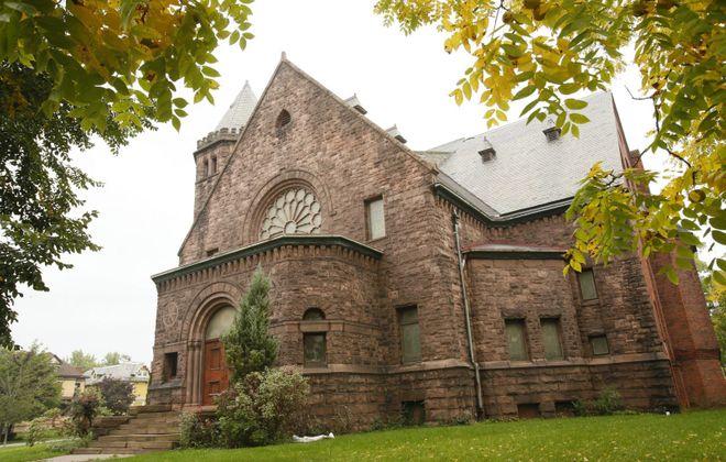 The former Richmond Avenue Methodist Church. (Derek Gee/Buffalo News)