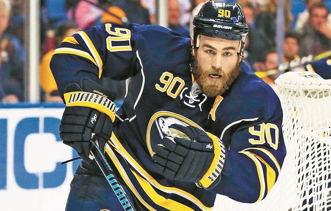 Ryan O'Reilly would have heavy defensive duties in Sabres-Leafs games next season. (Harry Scull Jr./News file photo)