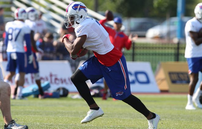 Buffalo Bills running back Taiwan Jones. (James P. McCoy/Buffalo News file photo)