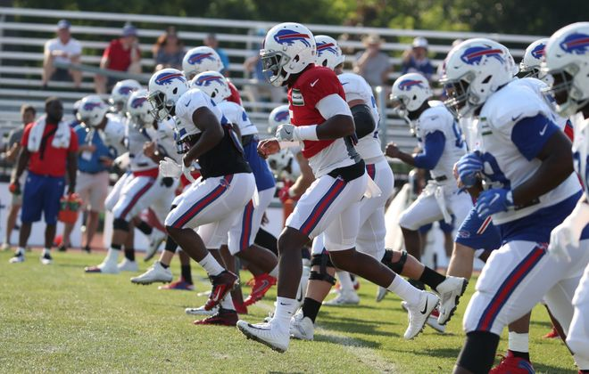 Training camp returns to St. John Fisher this week. (James P. McCoy/News file photo)