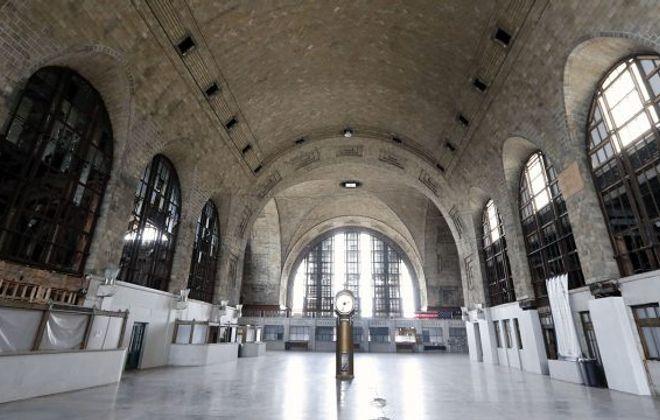 The main concourse at Buffalo's Central Terminal. (Mark Mulville/News file photo)