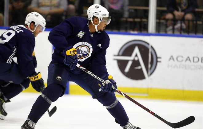 Evander Kane had 25 goals last year at even strength. (Mark Mulville/Buffalo News)
