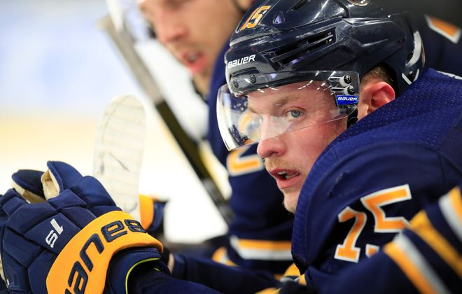 Year Three could be special for Jack Eichel, and he knows it. (Harry Scull Jr./Buffalo News)