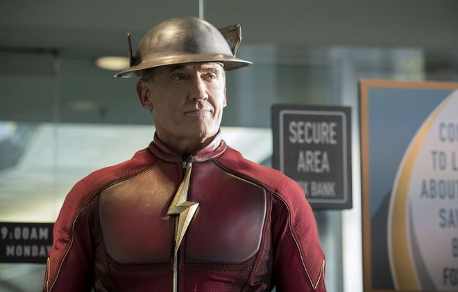 """Actor John Wesley Shipp, pictured here in the CW show """"Flash,"""" will appear at Buffalo ComicCon. (Katie Yu/The CW)"""