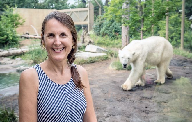 Donna Fernandes, president emeritus of The Buffalo Zoo, oversaw a major growth spurt during her tenure including more than $50 million in upgrades. (Alicia Wittman)