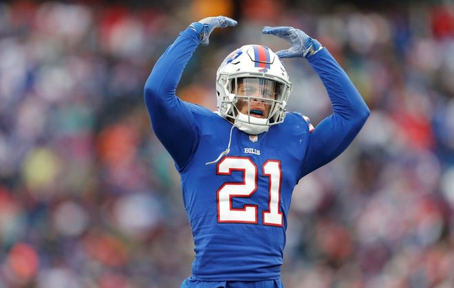 Bills safety Jordan Poyer signed a two-year contract extension with the team this week. (Getty Images)