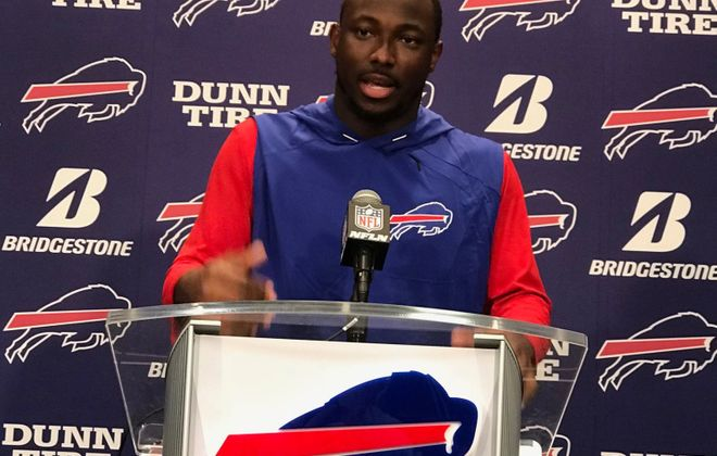 LeSean McCoy to Jim Kelly: 'My respect for you hasn't changed'