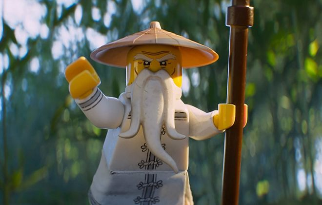 "A scene from ""The Lego Ninjago Movie."" (Warner Bros.)"