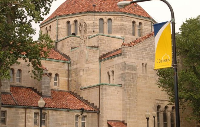 Montante Cultural Center at Canisius College. (News file photo)